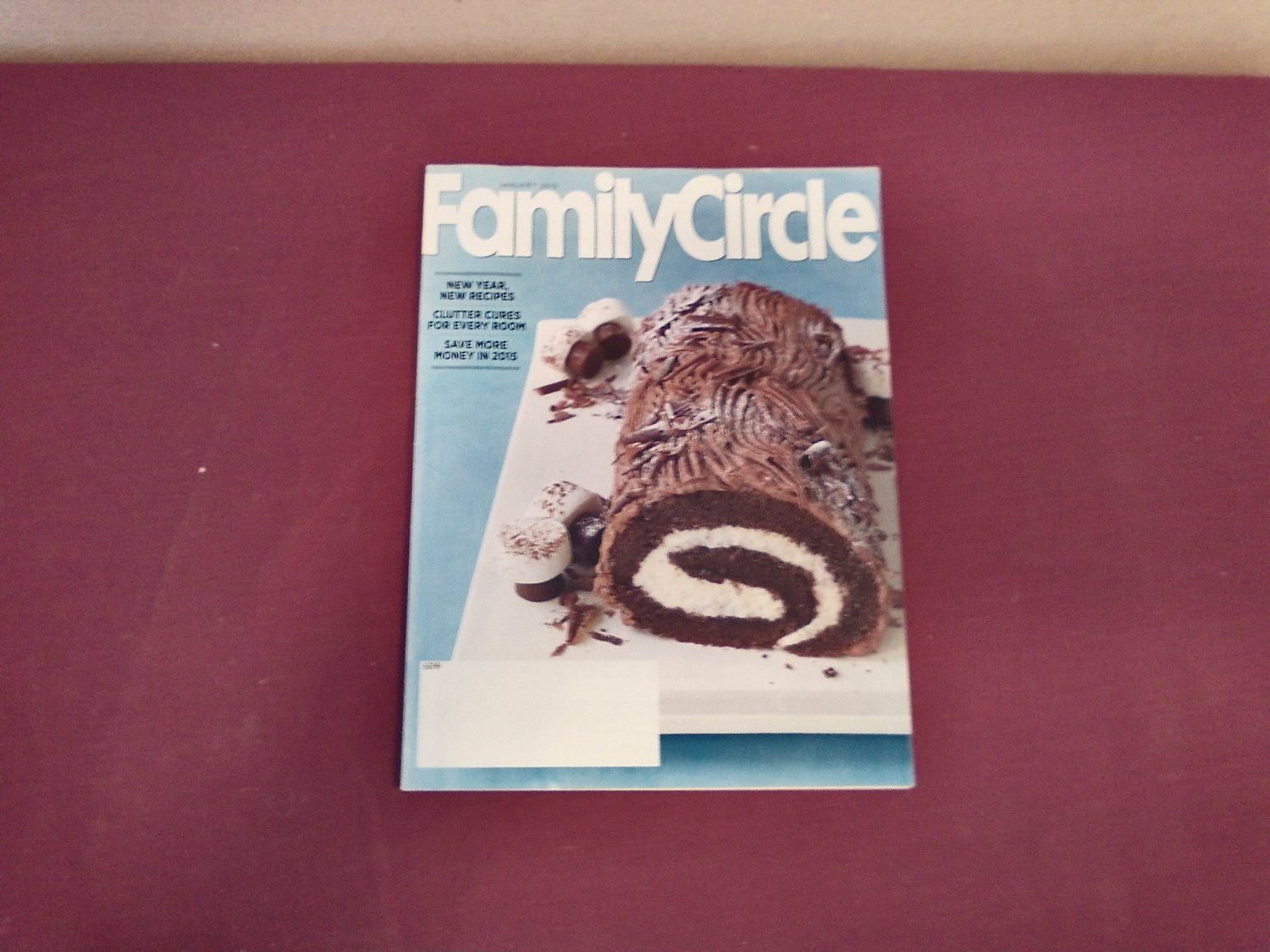 Family Circle Magazine January 2015 Volume 128 Number 1 - New Year New Recipes