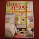 Better Homes and Gardens January 2014 Volume 92 Number 1 Simply Organized (G1)