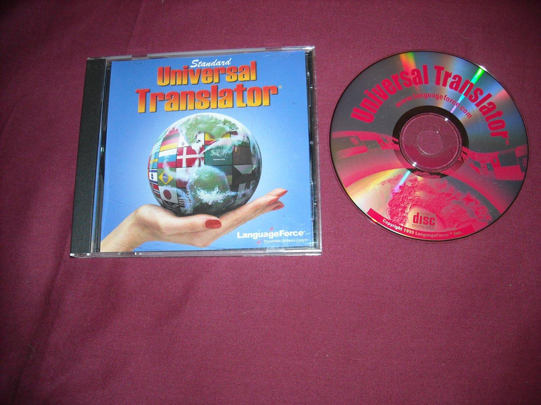 Standard Universal Translator by Language Force PC CD-Rom Software 1999