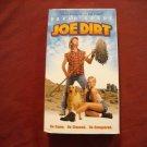 Joe Dirt VHS (2001) David Spade, Brittany Daniel, Dennis Miller, Christopher Walken Rated PG-13
