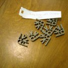 KNEX Standard Dark Gray 3 Position Connector  - Part Number Not Found - 7 Piece