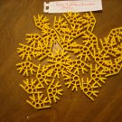 KNEX Connector 4-way Yellow Discontinued - Part Number 99086 - 28 Pieces