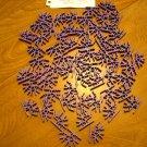 KNEX Standard Purple 4 Position Connector - Part Number 909092 - 60 Pieces