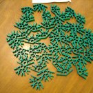 KNEX Standard Green 4 Position Connector - Part Number 90905 - 44 Pieces