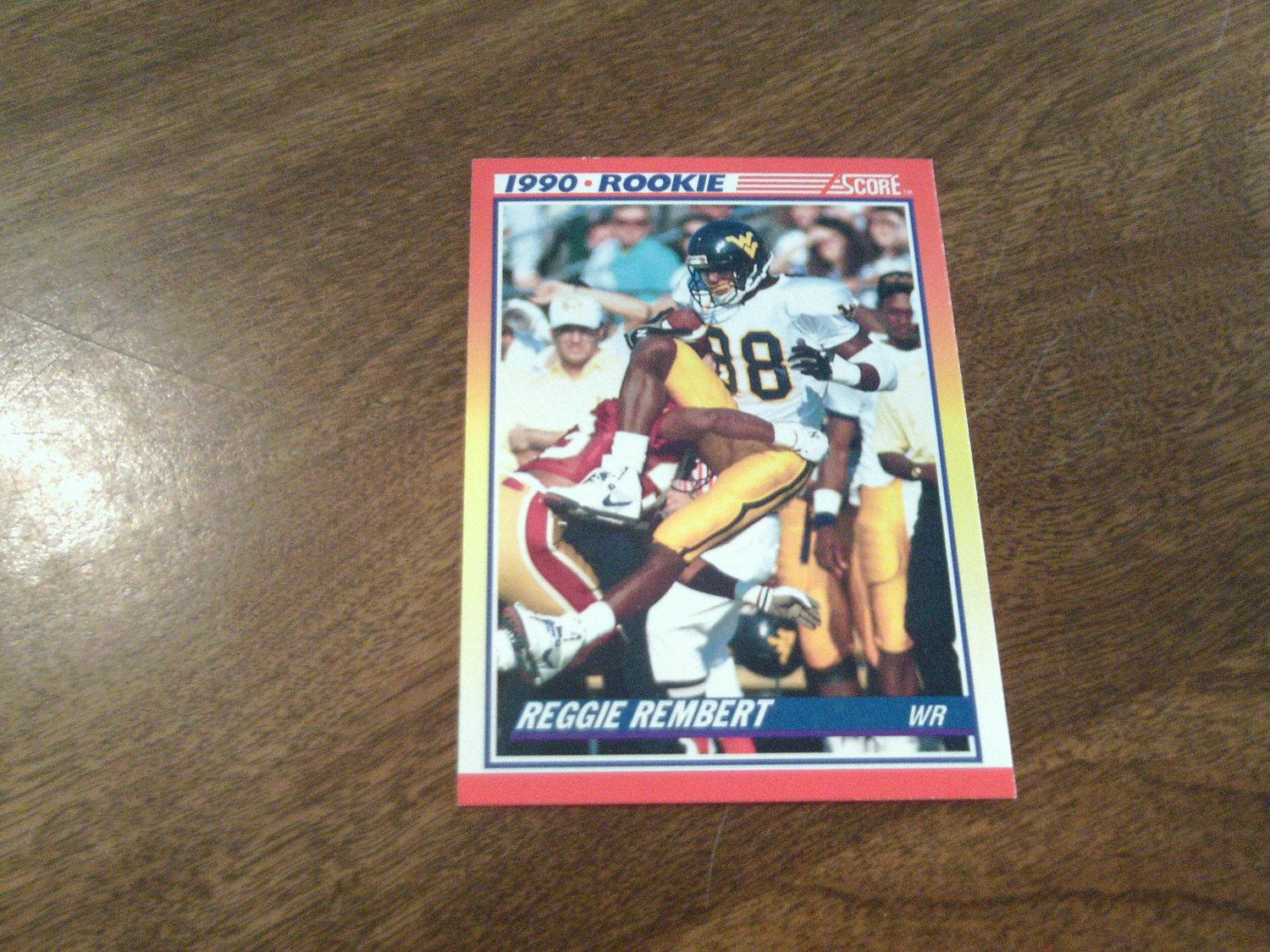 Renaldo Turnbull West Virginia Mountaineers 296 1990 Score