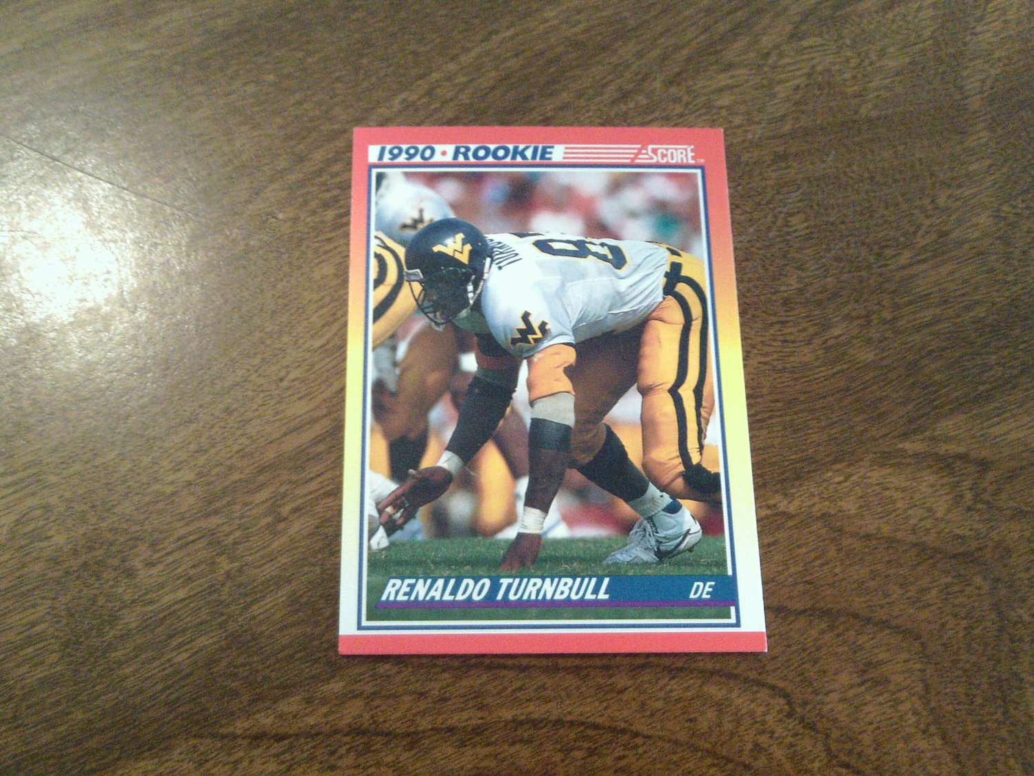 Reggie Rembert West Virginia Mountaineers 297 1990 Score