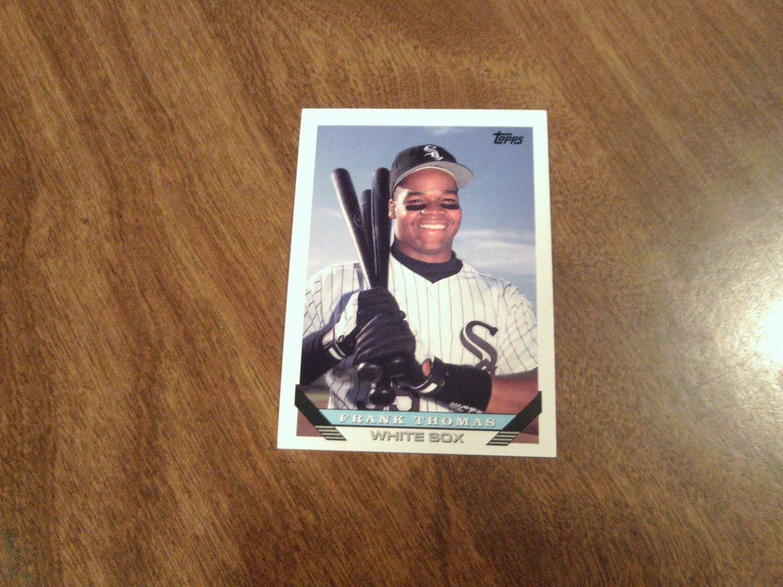 Frank Thomas Chicago White Sox 150 1993 Topps Baseball Card