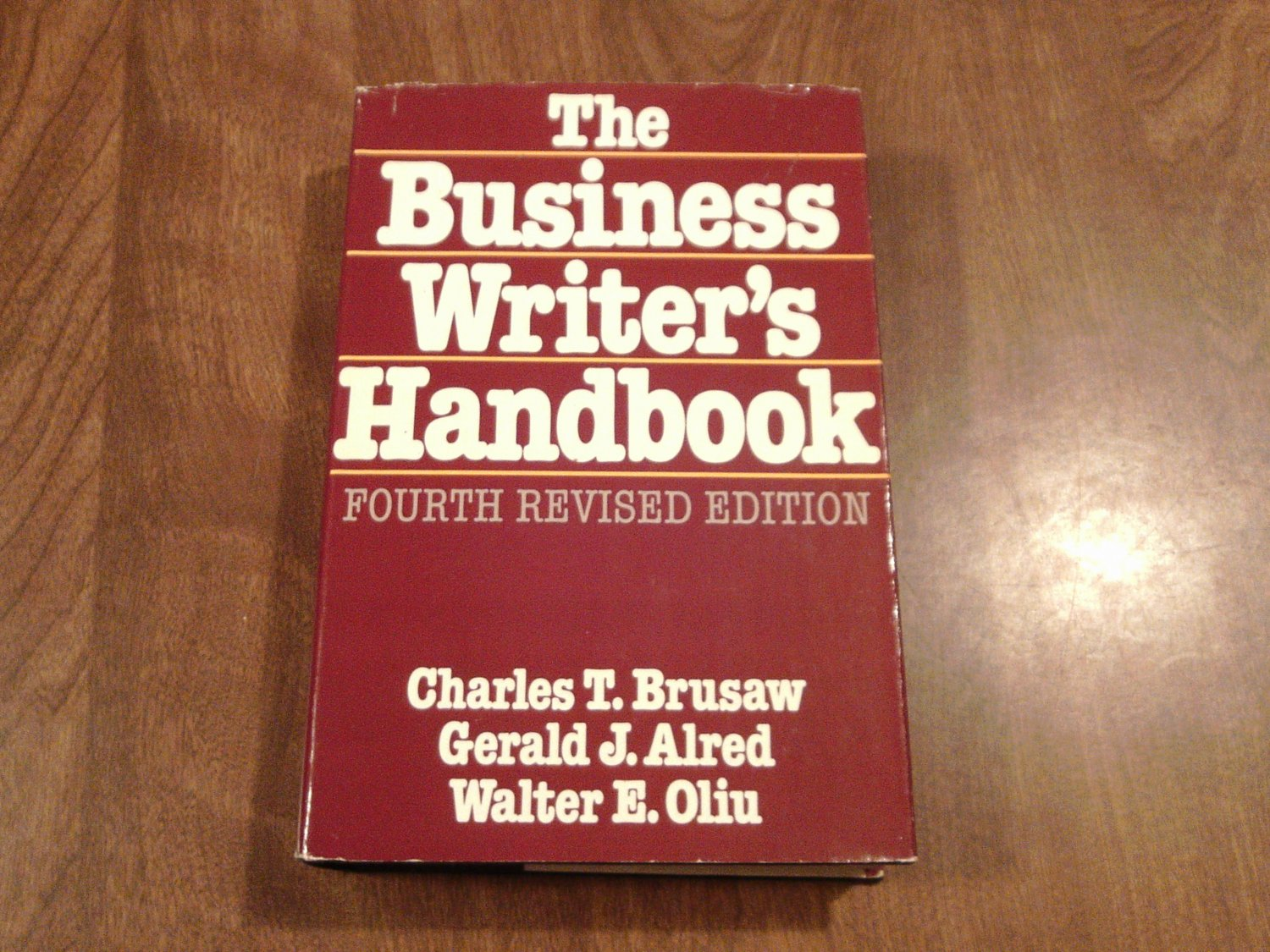 The Business Writers Handbook Ebook