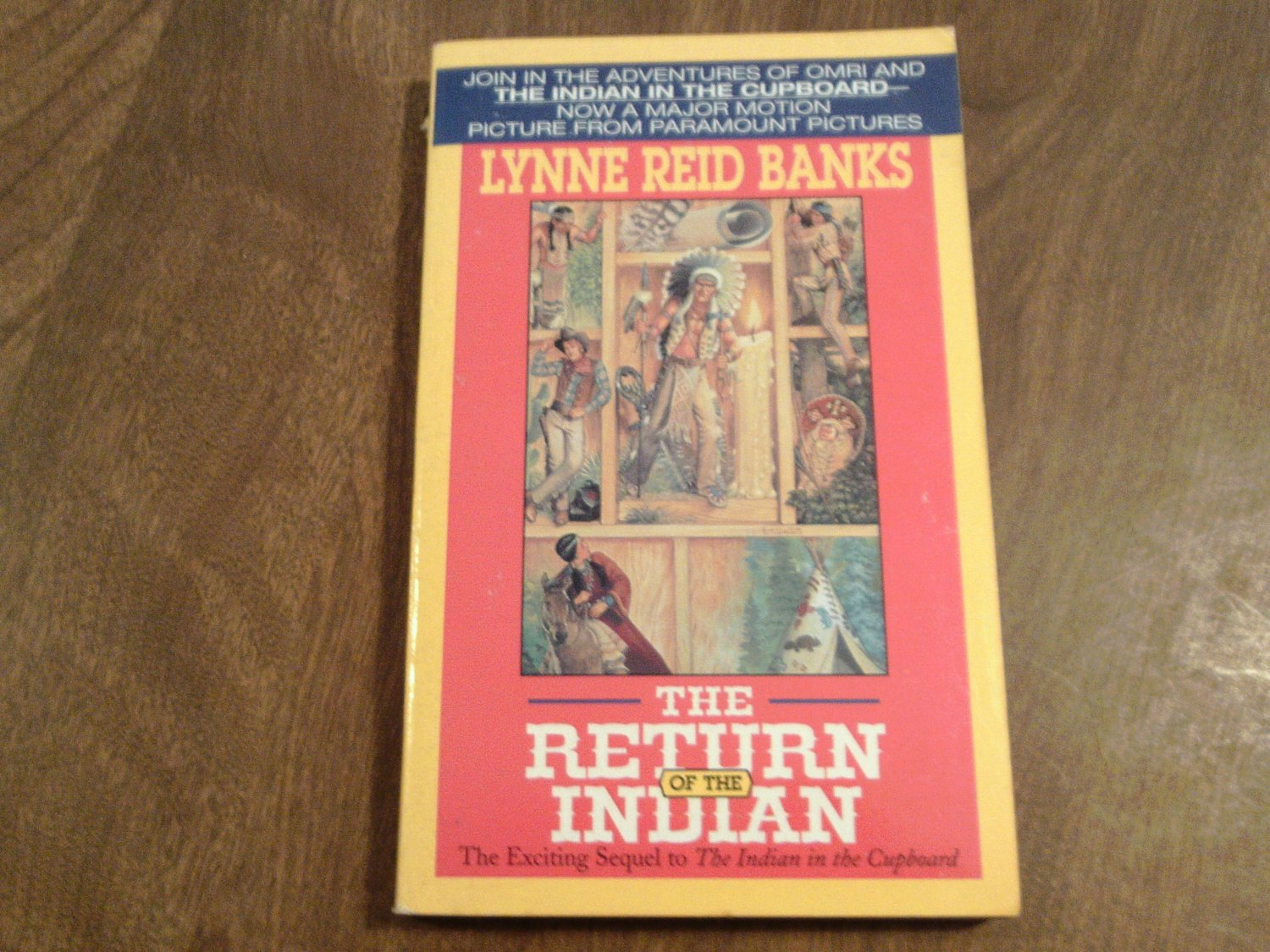 The Return Of The Indian By Lynne Reid Banks 1995 Wc3 The Indian