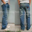 STITCH'S Vintage Denim with Embroidery by Heavy Washing