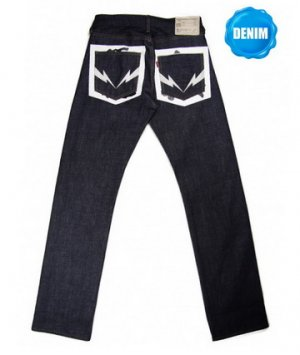 HED308 Unwashed Selvedge Denim (��)