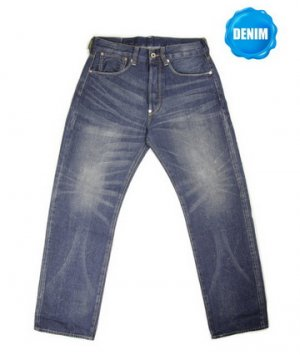 HED 333  Washed Selvedge Denim Vintage Washed