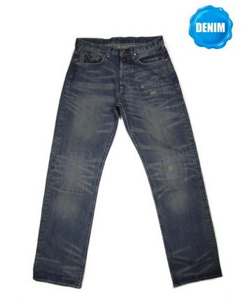 HED 706  Washed Selvedge Denim (Vintage Washed & Hand Stitches