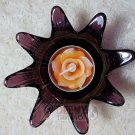 Flower Glass put candle