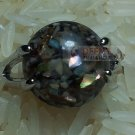 Black & Brown Stone Ring by handmade