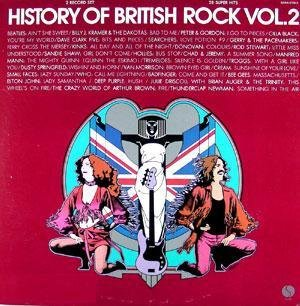 History Of British Rock Vol. 2 LP (LP138