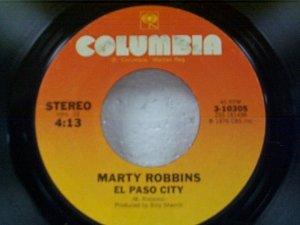 Marty Robbins El Paso City 45    (078)