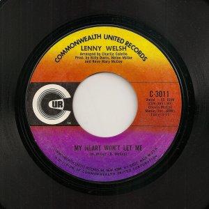 Lenny Welch 45  (2510)