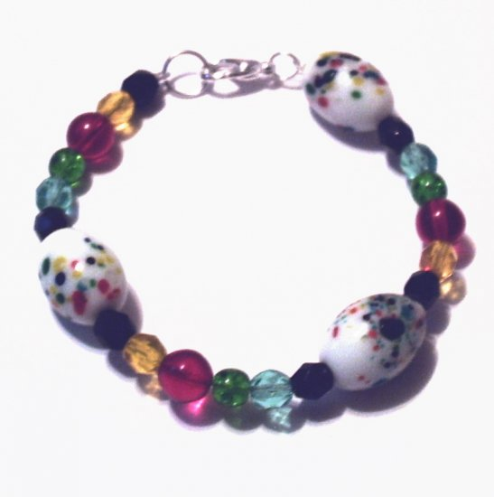 Multi-color Egg Bracelet