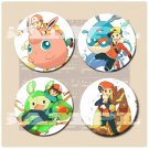 Pokemon memories Button Set
