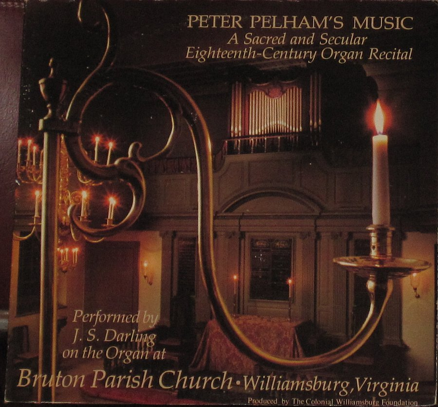 Peter Pelham S Music A Sacred And Secular 18th Century