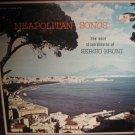 Neapolitan Songs - The Voce Straordinaria of Sergio Bruni - Capitol Records LP  T10018