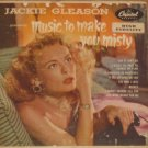 "Jackie Gleason - Music to Make You Misty Capitol Records Double (2) 45"" EBF-455"