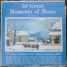 50 Great Moments of Music Album No. 1 - GM LP SGM-1AA