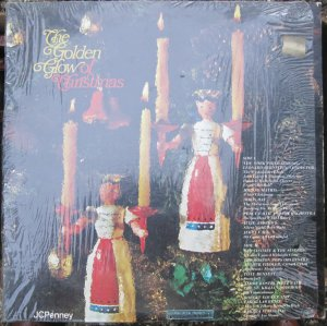 The Golden Glow of Christmas - JC Penney - Columbia LP 10925