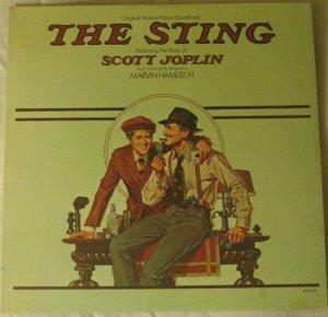 The Sting - Scott Joplin - Original Motion Picture Soundtrack - MCA LP MCA-2040