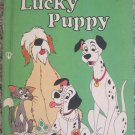 Lucky Puppy - Walt Disney Productions, Random House Illustrated Book - 1st American ed