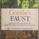 Faust - Goethe - Anchor Books 1963 Paperback