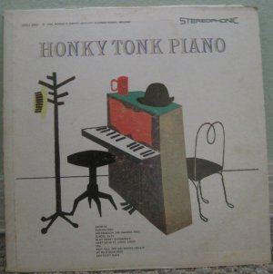 Honky Tonk Piano - Sutton Records LP SSU 268 (Stereo)