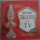 Before Talkies and TV - More From A Golden Era 1900-1927 Audio Fidelity LP AFSD 6204 1969