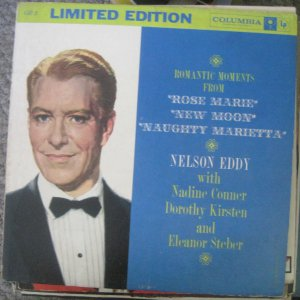 Nelson Eddy - Romantic Moments From - Columbia Records LP GB 3