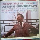 Johnny Mathis - Johnny's Greatest Hits - Columbia Records LP CS 8634