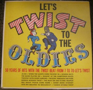Let's twist to the Oldies - Fats and the Chessmen - Somerset Records LP P-15500