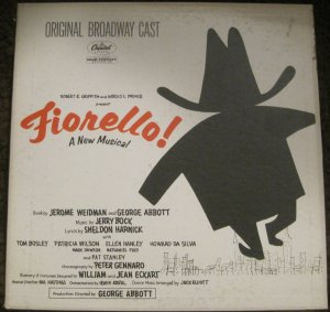 Fiorello - Original Broadway Cast Recording - Capitol Records LP WAO 1321