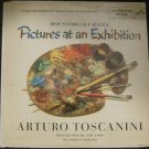Moussorgsky-Ravel - Pictures at an Exhibition - Arturo Toscanini - Rca Victor Red Seal LP LM-1838