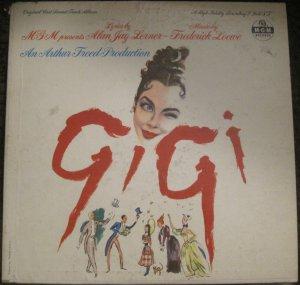 Gigi - Original Cast Sound Track Album - MGM Records LP E 3641ST