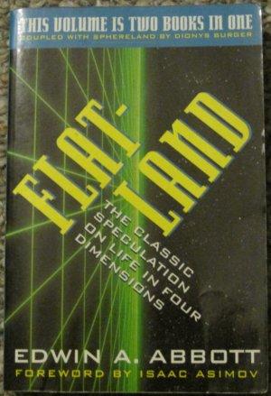 Flatland/Sphereland (Two Books in One) - Edwin Abbot/Dionys Burger - HarperPerennial Paperback 1997