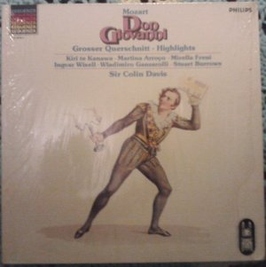 Don Giovanni - Sir Colin Davis & Orchestra of the Royal Opera House - Philips Import LP 412 016-1