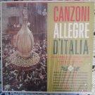 Canzoni Allegre d'Italia - Adriano Valle e Gabriella Piccinini - Fiesta Record LP FLPS 1444