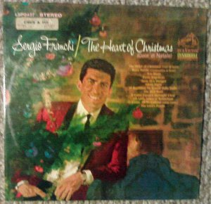 Sergio Franchi - The Heart of Christmas - RCA Victor LP LSP-3437