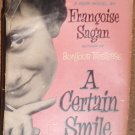 Francoise Sagan - A Certain Smile - E.P. Dutton & Co. Hardback 1956