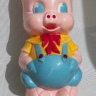 Vintage Porky Pig Piggy Bank - Ancient Carnival Prize - Ideal I-2317