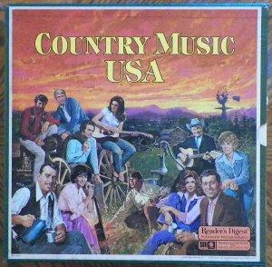 Country Music USA - Reader's Digest 8 LP Box Set RD4-193