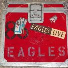 Eagles Live - 2 LP Elektra/Asylum Records LP BB-705