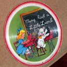 Mary Had A Little Lamb/Nellie Neat - 1948 Voco Plastic on Cloth 78 RPM 7&quot; Picture Record