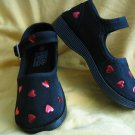 Beautiful Valentine Black Mary Janes